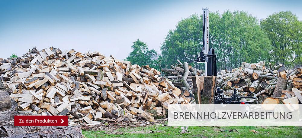 Brennholzverarbeitung