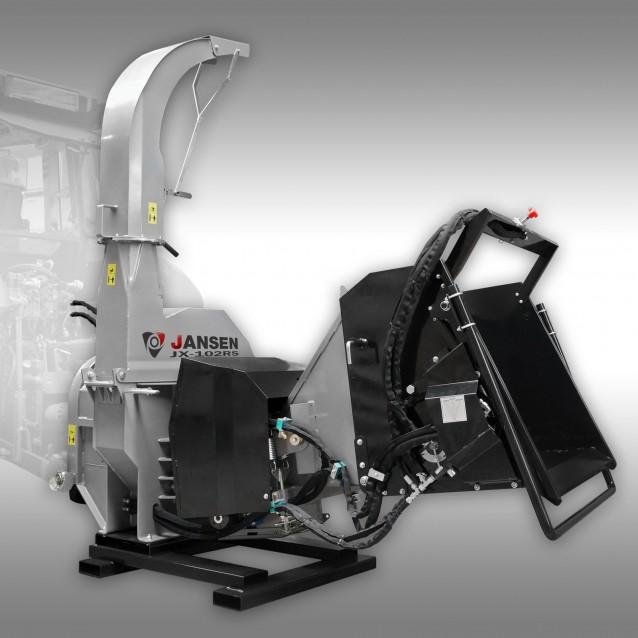 Schredder Jansen MX-52RS - Häcksler Holzhäcksler Holzschredder Traktor