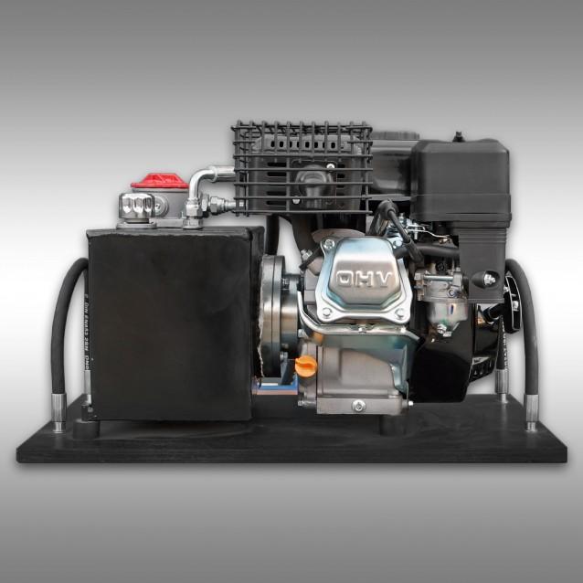 Hydraulikaggregat für Holzrückewagen Jansen HRW-15, Benzinmotor