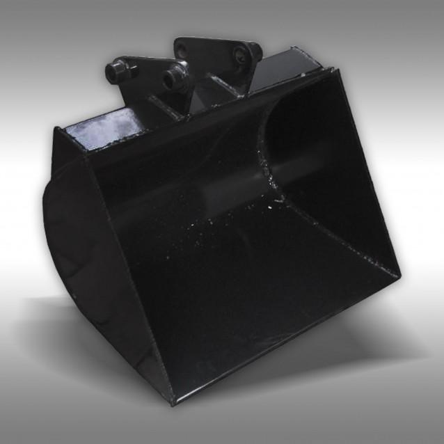 Schaufel 600 mm für Minibagger Jansen MB-300, 10 PS, Schreitbagger