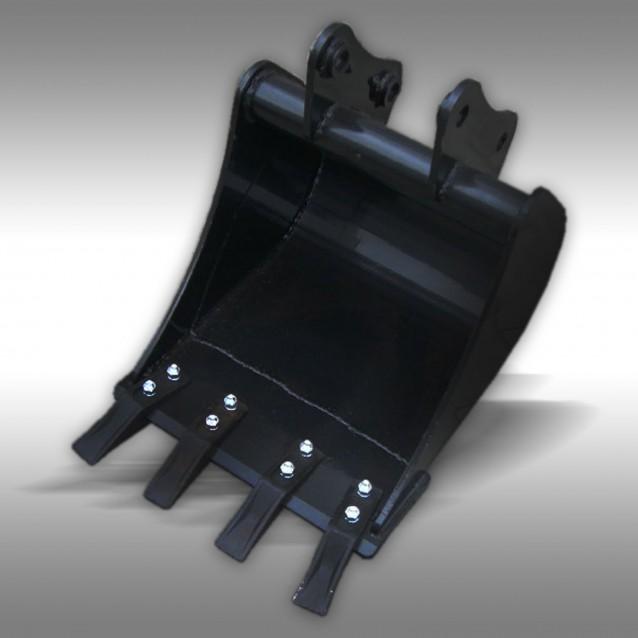 Schaufel 400 mm für Heckbagger Jansen BHM / BHSM, Anbaubagger