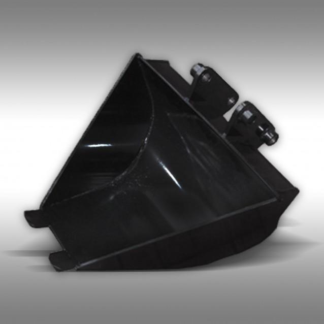 Schaufel Grabenprofil 600 / 200 mm für Minibagger MB-300, 10 PS