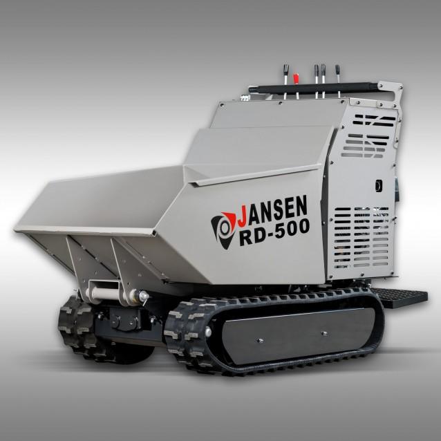 Raupendumper Jansen RD-500, Benzinmotor,9PS,hydrostatisch,Kettendumper