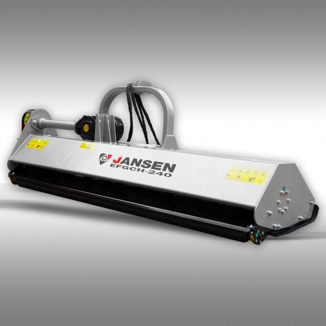 Schlegelmulcher Jansen EFGCH-240 cm, hydr. Seitenverschiebung, Mähwerk