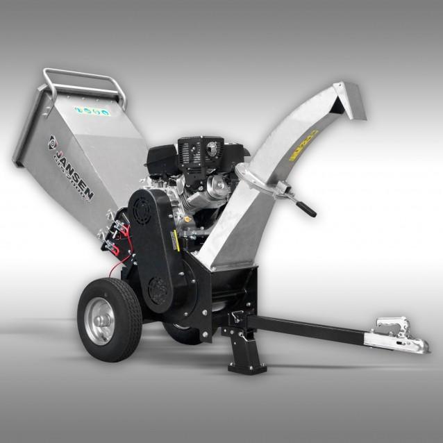 Schredder Jansen GTS-2000pro, Gartenschredder, Gartenhäcksler, Benzin