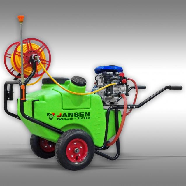 Motorspritze Jansen MGS-100, Sprühgerät, Spritzgerät, Motorsprüher
