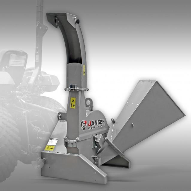 Schredder Jansen BX-42S, Häcksler Holzhäcksler Holzschredder Traktor