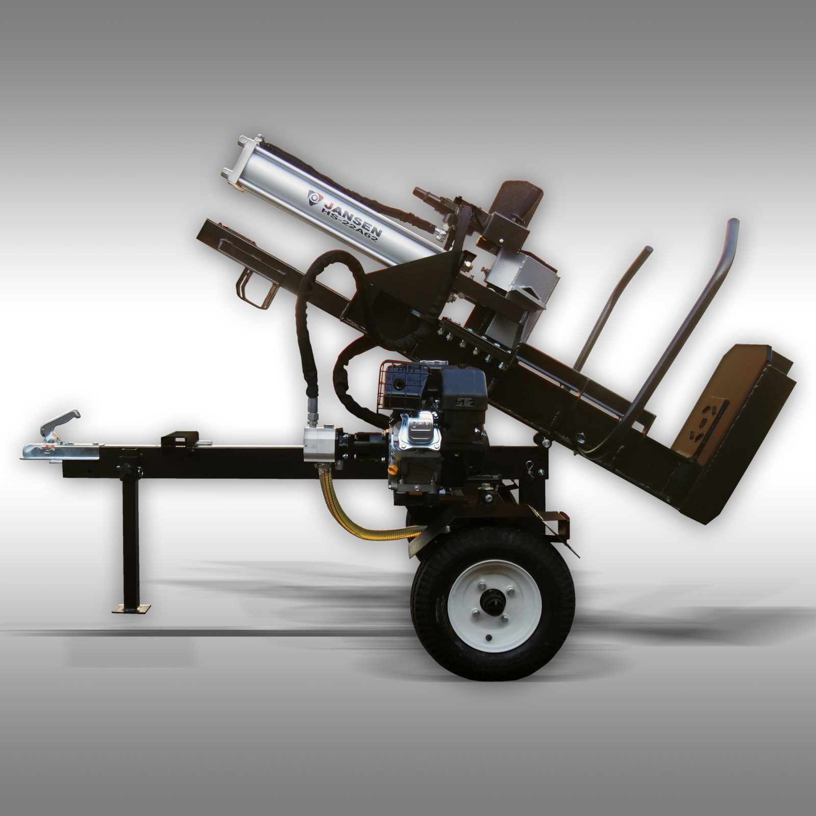 holzspalter jansen hs 22a62 62 cm 22 t benzinmotor stehend liegend neu ebay. Black Bedroom Furniture Sets. Home Design Ideas
