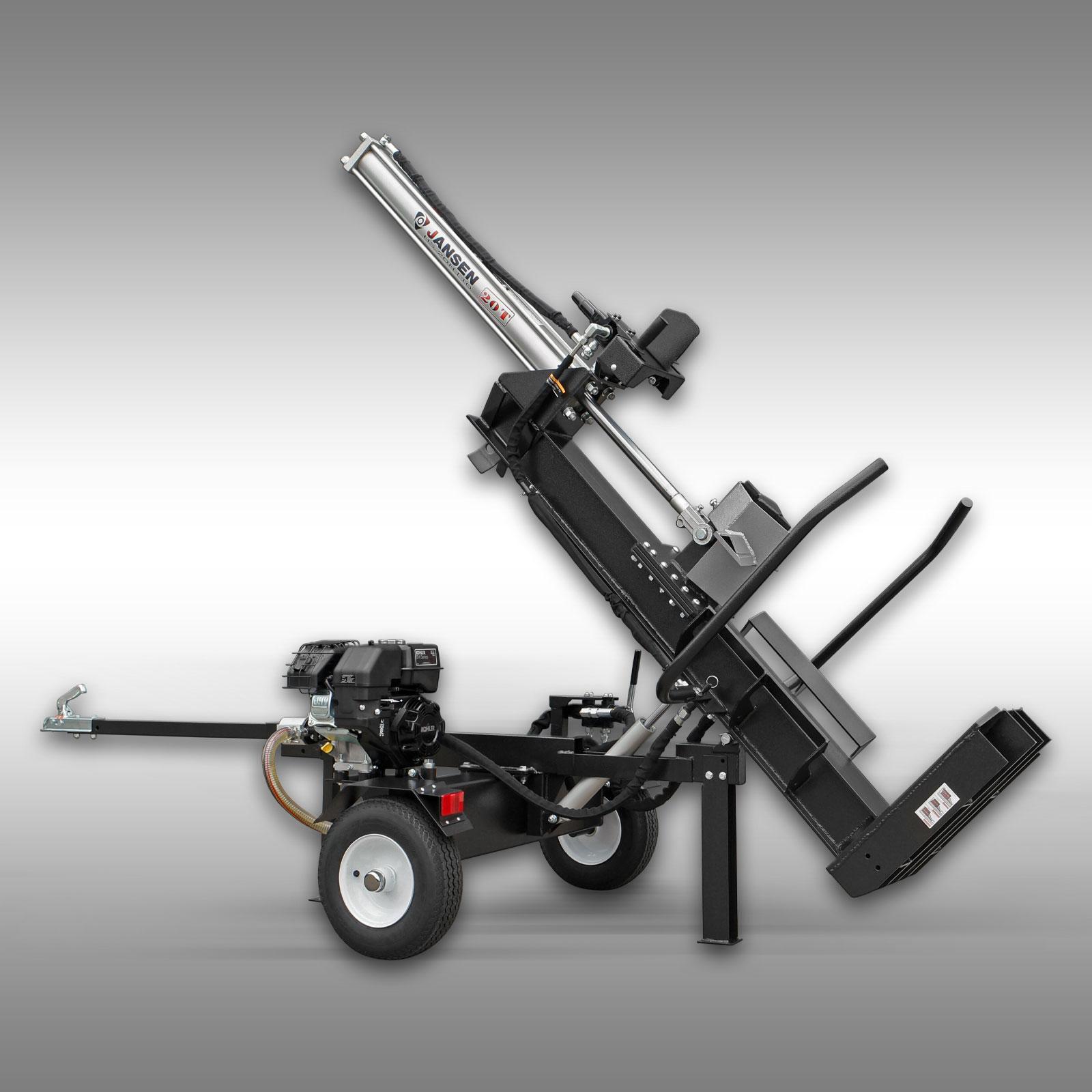 holzspalter jansen hs 20h110 20 t 110 cm benzin. Black Bedroom Furniture Sets. Home Design Ideas