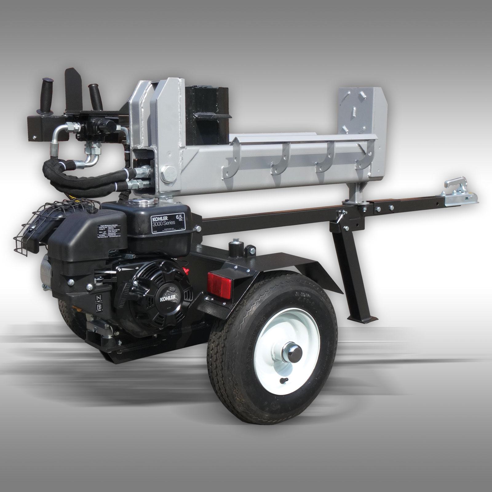 holzspalter jansen hs 20ds63 20 t benzinmotor benzin. Black Bedroom Furniture Sets. Home Design Ideas