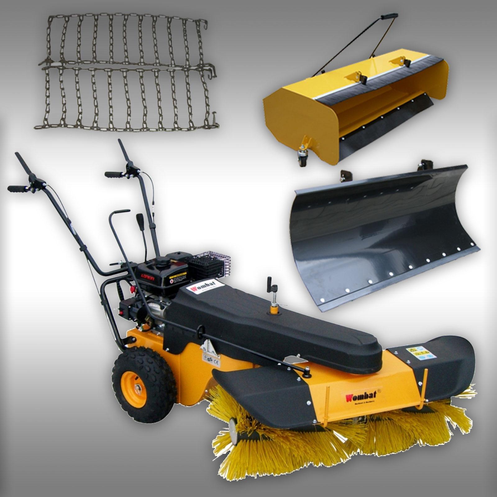 kehrmaschine mkb 100 1 m 6 5 ps benzinmotor motorbesen mit radantrieb set 3 ebay. Black Bedroom Furniture Sets. Home Design Ideas