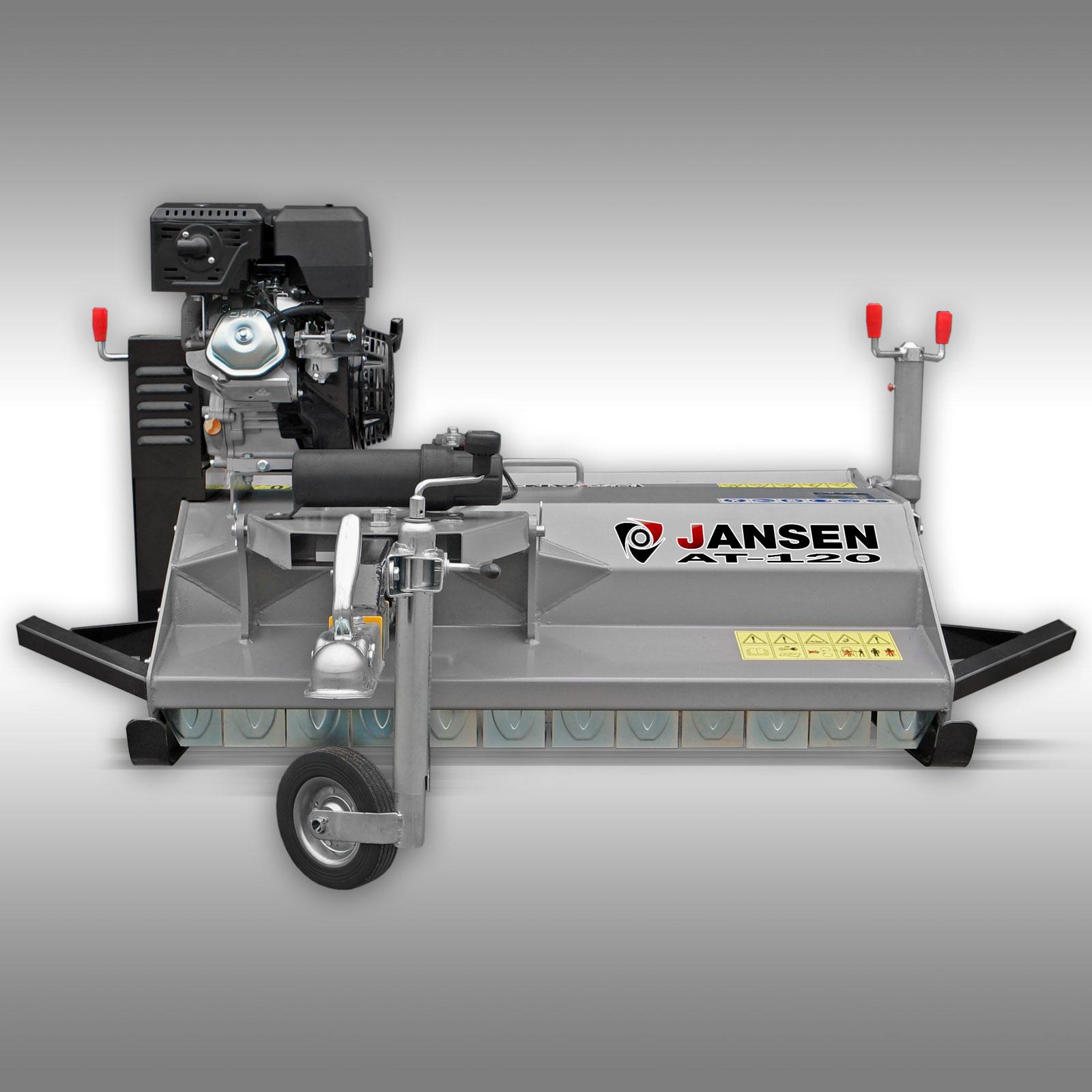 schlegelmulcher jansen at 120 15 ps motor quad atv. Black Bedroom Furniture Sets. Home Design Ideas